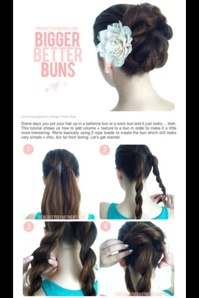 fashion show hairstyles : 1000+ ideas about Fancy Buns on Pinterest Diy Hairstyles, Pull Back ...