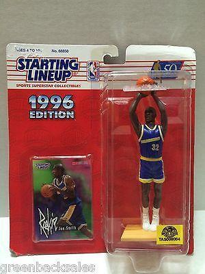 (TAS008084) - 1996 Edition Starting Lineup - NBA - Joe Smith #32 Warriors