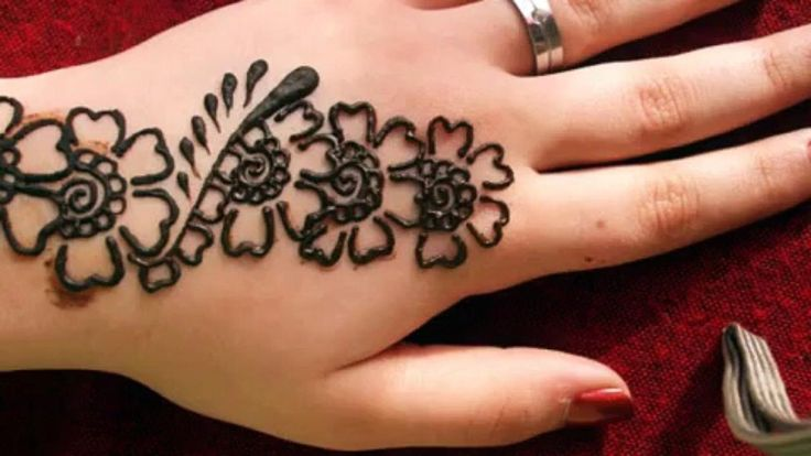 Easy henna designs for beginners step by step step by step simple mehndi design video for Simple arabic mehndi designs for beginners home