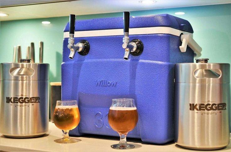 Complete Jockey Box | 2 x 5L Kegs On Tap Anywhere   #keg #beer #craftbeer #growler #minikeg #craftbeernotcrapbeer #homebrew #brewing #growlerfillfriday