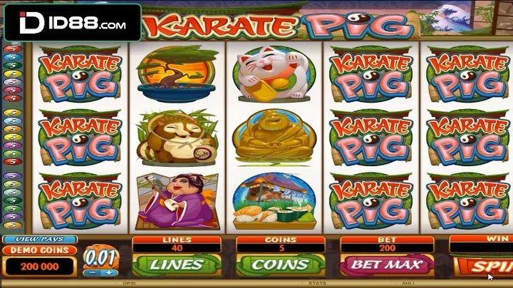 Mainkan Karate Pig Di Mgs Slot Id88 Bonus Dan Keberuntungan Pun