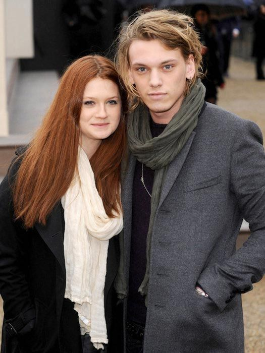 Bonnie Wright and Jamie Campbell Bower...