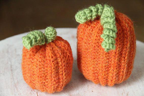 PUMPKIN HOME DECORATION Crochet Amigurumi Fake Artificial
