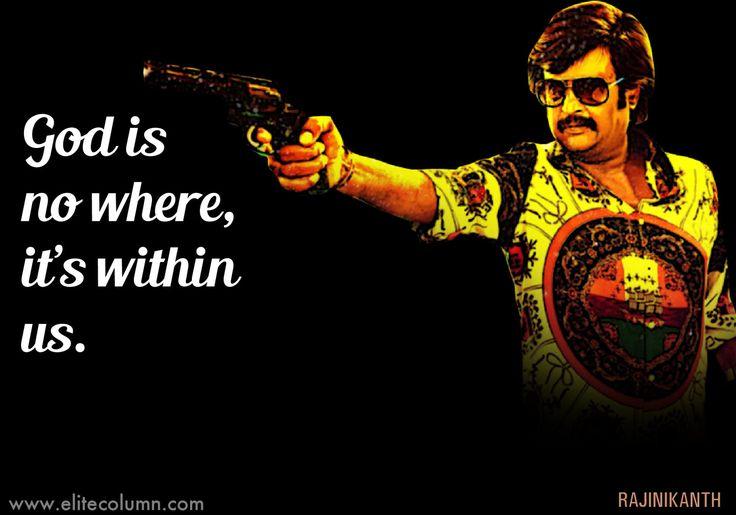 Superstar Rajinikanth's Top 12 Life Quotes