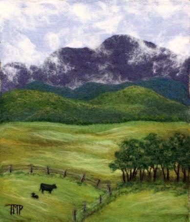 """""""Summer Pastures"""" by Tracey McCracken Palmer of Bonnieblink Studio"""