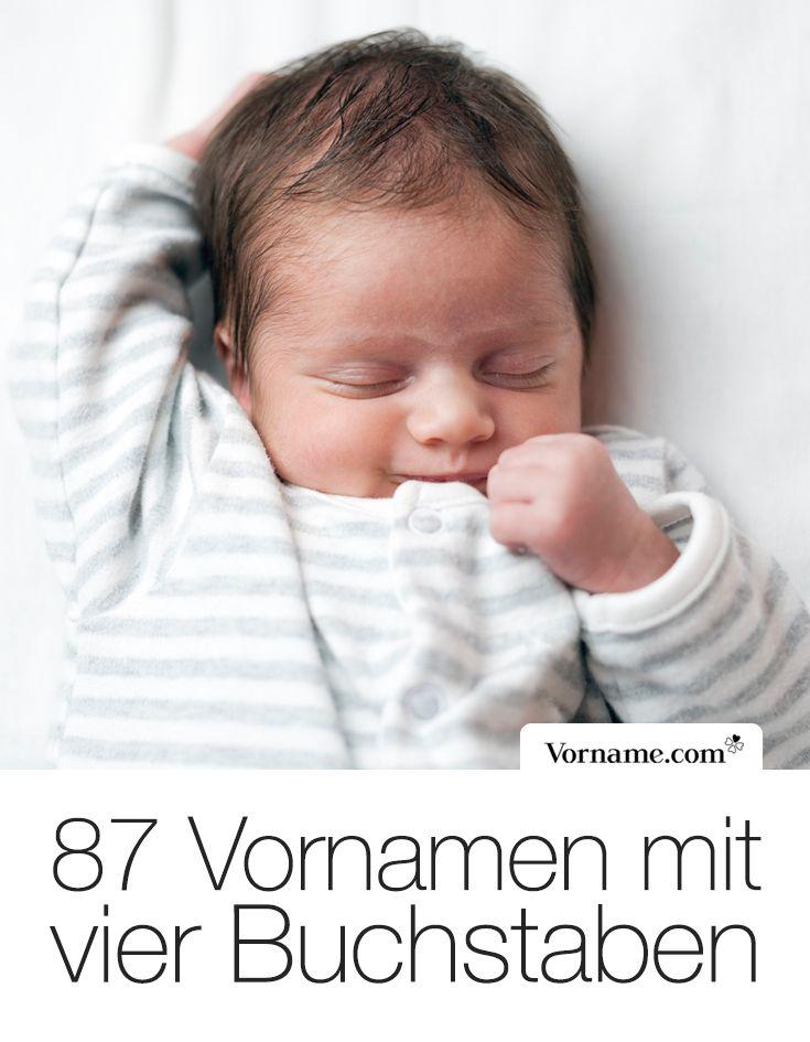 Kurz und bündig: tolle Babynamen mit vier Buchstaben   – Kinder