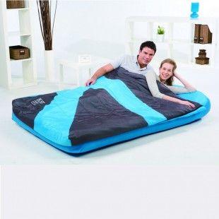 sac de couchage avec matelas integre 2 personnes