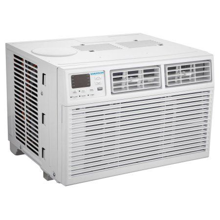 Emerson Quiet Kool 6,000 BTU 115V Window Air Conditioner with Remote Control, White