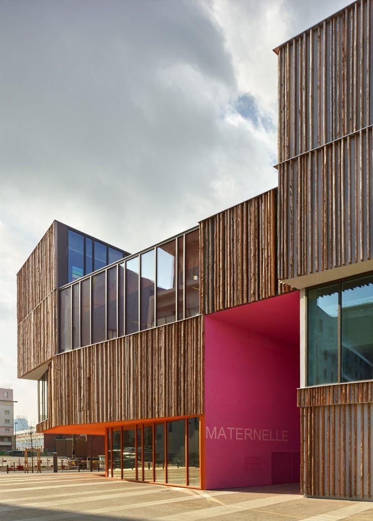 Pump House Design School: Best 25+ School Building Design Ideas On Pinterest