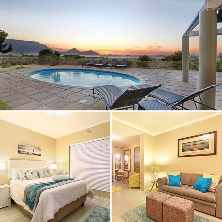 Leisure Bay 107, Milnerton. Enjoy this stylish 1 bedroom self catering #holiday #apartment in Milnerton, Cape Town.