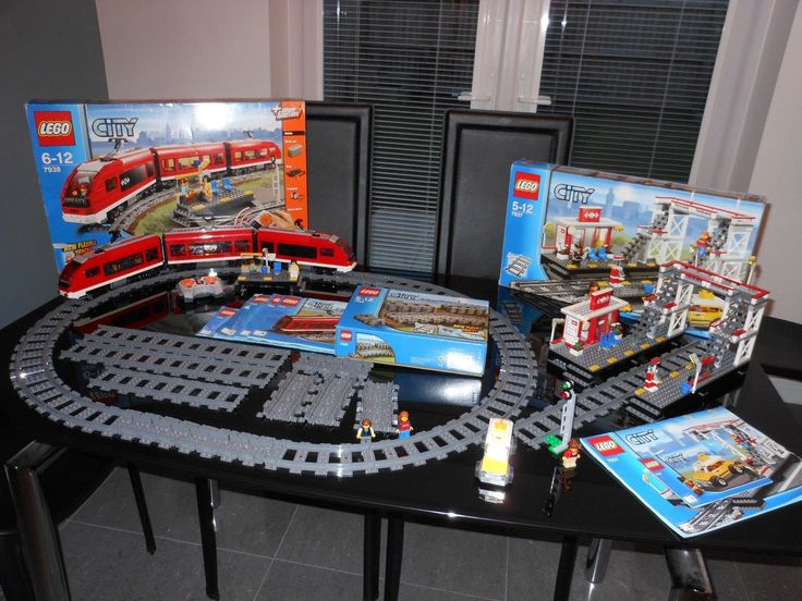 Lego city train set. #7937+ #7938+ #7499.,  View more on the LINK: http://www.zeppy.io/product/gb/2/152334302617/