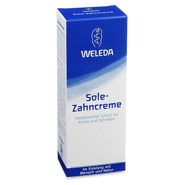 Weleda Sole Zahncreme, 75 ml | PZN: 2436546 | HERSTELLER: WELEDA AG | • Ohne Fluorid • Medizinischer Schutz vor Karies und Zahnstein • Mit einem löslichen Putzkörper aus Natriumcarbonat >> http://www.juvalis.de/2436546/weleda-sole-zahncreme << #Apotheke #Zahncreme #Zahnpasta