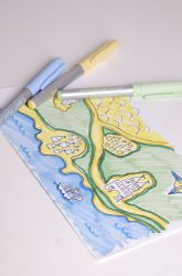 Draw a fairy tale map. Would be a cute cross-curricular activity for LA & SS.