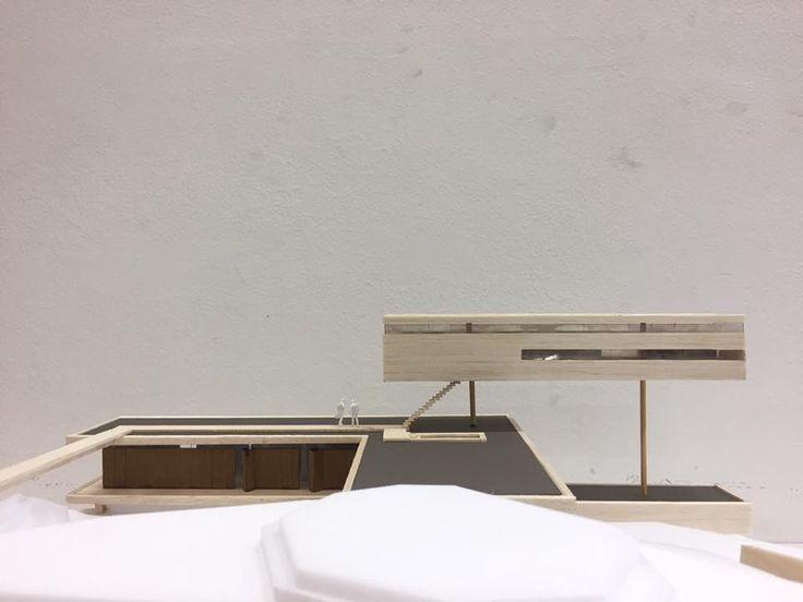 Casa da Pirambeira, escala 1/100, 2017. Gabriel Weber. FAU-UFRJ.