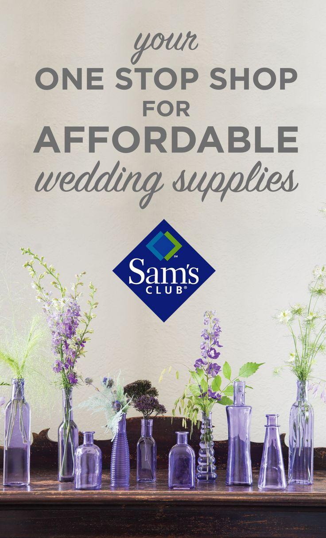 Samu0027s Club   Your One Stop Shop For Wedding Supplies. Budget WeddingDiy ...