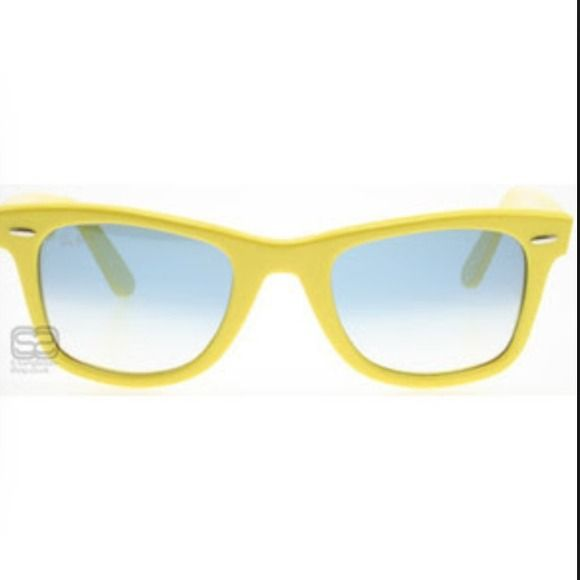 Yellow ray ban wayfarers Yellow ray ban wayfarer sunglasses Ray-Ban Accessories