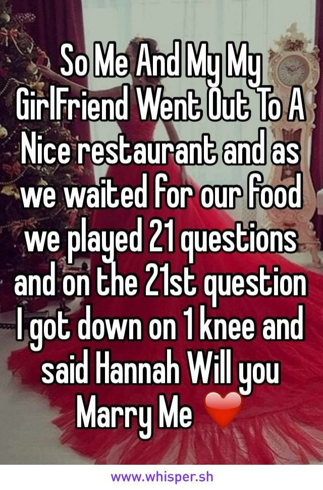Will this please happen to me? My name is Hannah<<< well my name isn't Hannah but it will still work