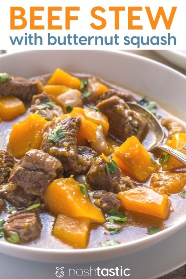Beef And Butternut Squash Stew It S Paleo Whole30 Gluten Free