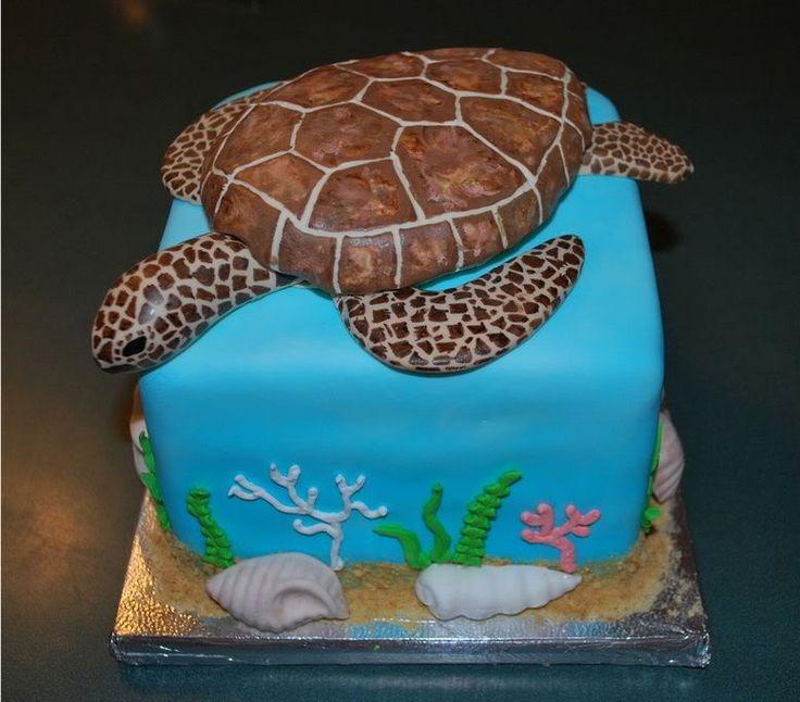 The 25 best Sea turtle cakes ideas on Pinterest Sea turtle