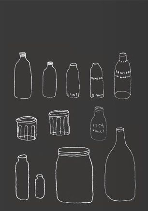 simple: Beautiful Simplicity, Breakfast Chalkboards, Kitchens Pics, Handdrawn Bottle, Chalkboards Drawings, Diy Chalkboards, Chalkboards Wall, Bnk Illustrations, Black Cards