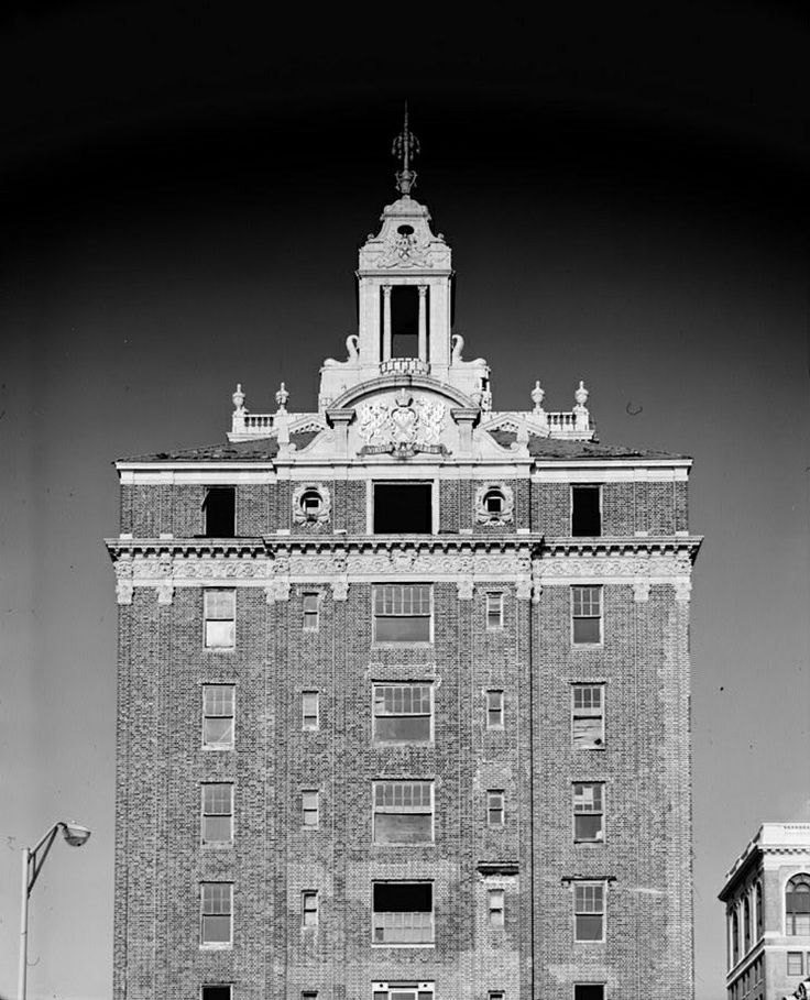 Facade Of The Shelburne Hotel Atlantic City Nj Just Before Demolition In 1980s