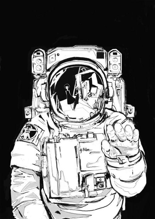Про, картинка с космонавтом так и не стал
