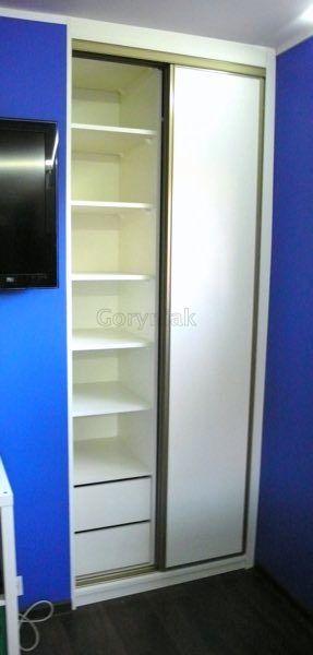 Lubon - Poznan - realizacje szaf na wymiar w galerii na stornie firmowej http://Goryniak.pl