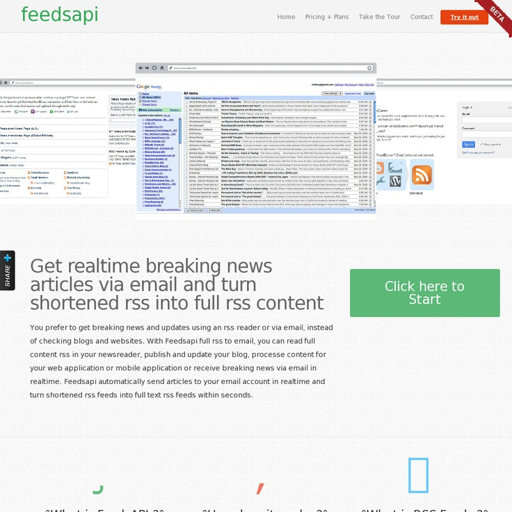 Create Full Text RSS Feeds Instantly Full RSS Builder