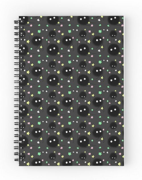 This soot sprite notebook ($12). | 36 Crazy Gifts That Any Miyazaki Lover Will Go Nuts Over