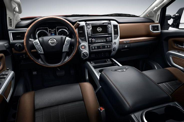 2016 Nissan Titan Xd Platinum Dashboard