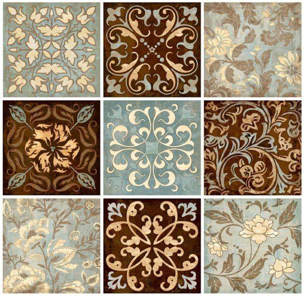 Decorative Wall Tiles Kitchen Backsplash: 426 Best Images About Royal Design Studio Stencils On
