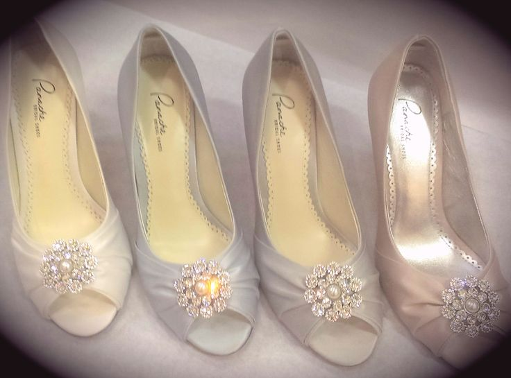 Choose Your Bridal Shoes Bridesmaids Flowergirls And Mother Of The Bride