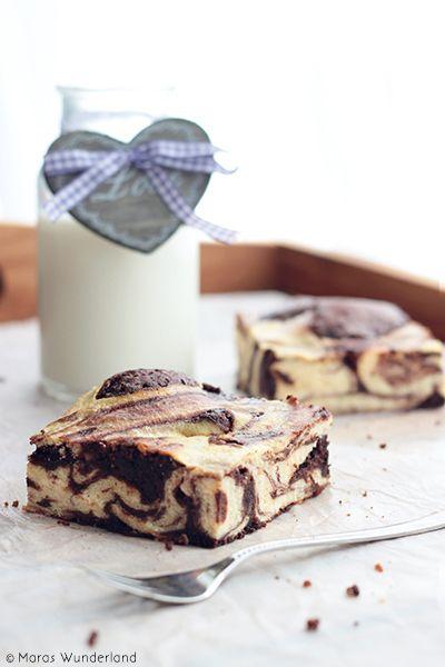 Brownie Quark Cheesecake!