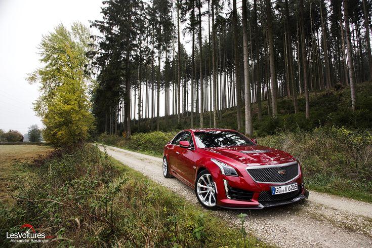 Cars - Cadillac CTS-V : l'extravagante berline de 649 chevaux à l'essai ! - http://lesvoitures.fr/cadillac-cts-v-2/