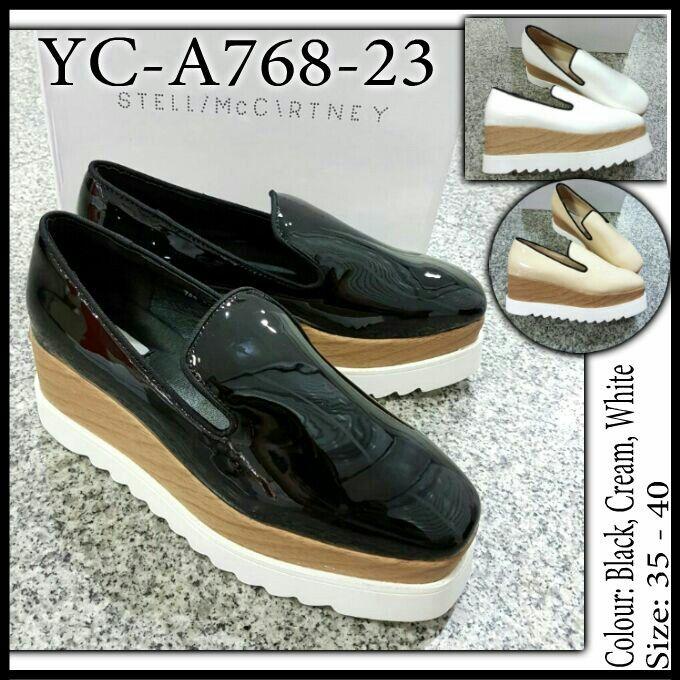 Sepatu Stella McCartney Wedges YC-A768-23 35-40 385rb