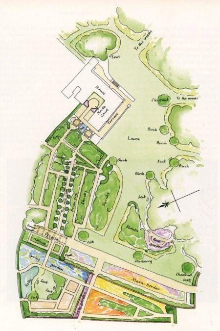 52 best garden plans history images on pinterest for Gertrude jekyll garden designs