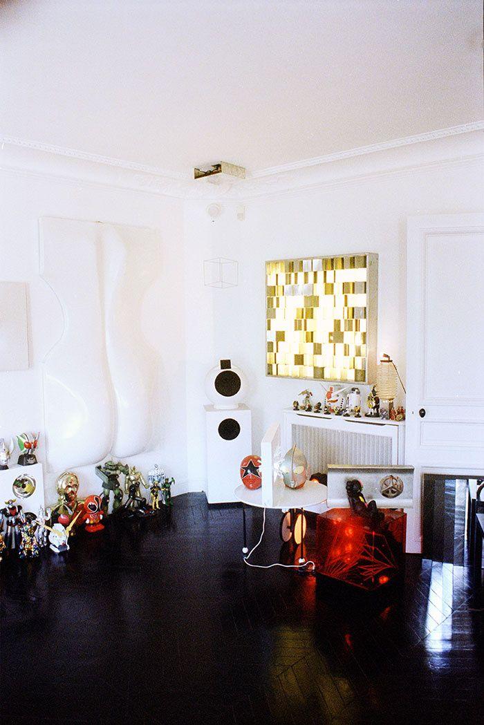 L 39 appartement parisien d 39 alexandre de betak ux ui designer deco an - L appartement by alexandre ...