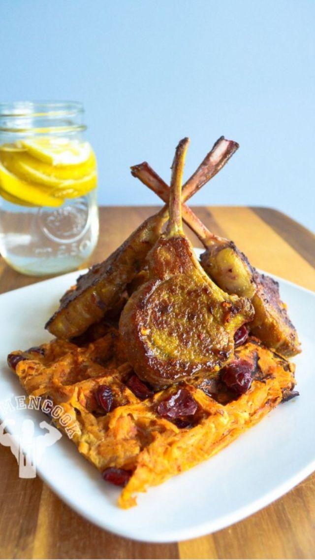 Gaufres de patate douces et c telettes d 39 agneaux repost de fitmencook gourmandise quand tu - Quand recolter les patates douces ...