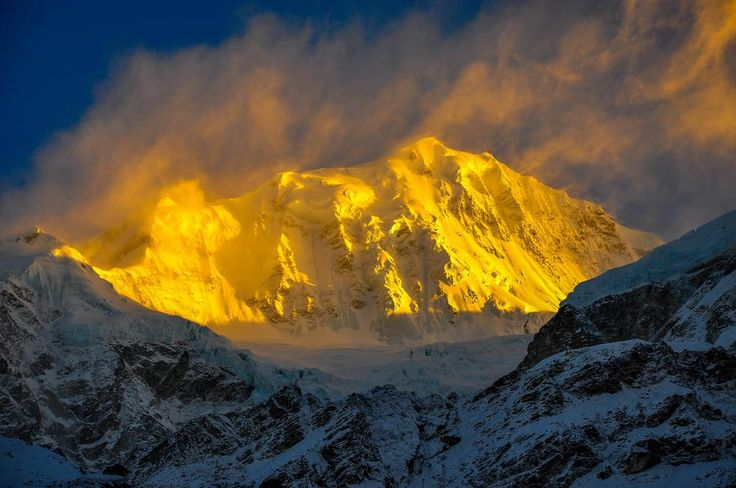 The burning mountain Photo by Surendra Pradhan — National Geographic Your Shot