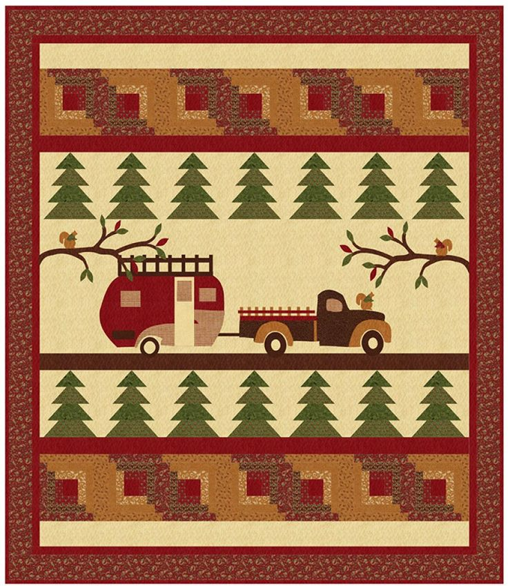 Forestry Road Quilt Sewing Pattern From Coach House