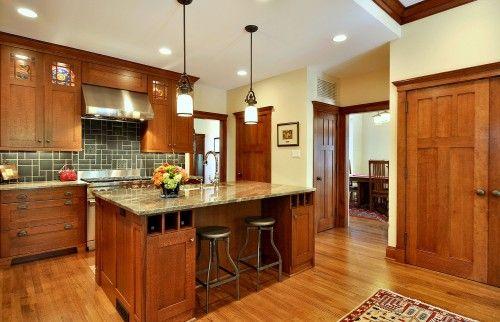 Kitchen: Decor, Craftsman Kitchen, Traditional Kitchens, House Ideas, Styles, Kitchen Design, Kitchen Ideas, Craftsman Style Kitchen