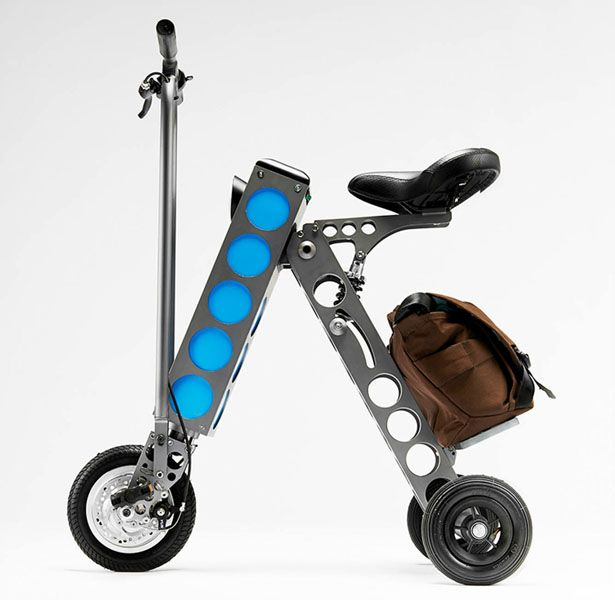 URB-E has arrived as one of great commuter companions for you in 2014. It's compact and portable electric scooter, an ideal transportation for highly congested urban environment.