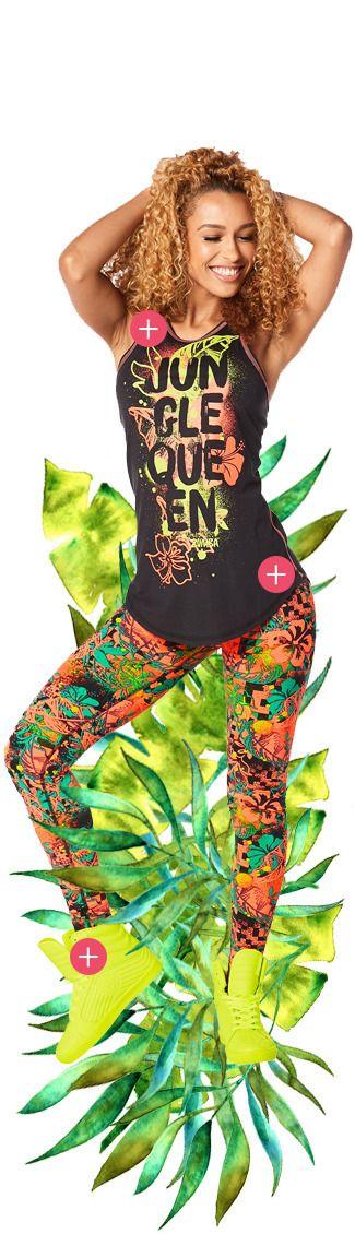New Arrivals | Zumba Fitness Shop l Jungle Queen Combo l #zumba