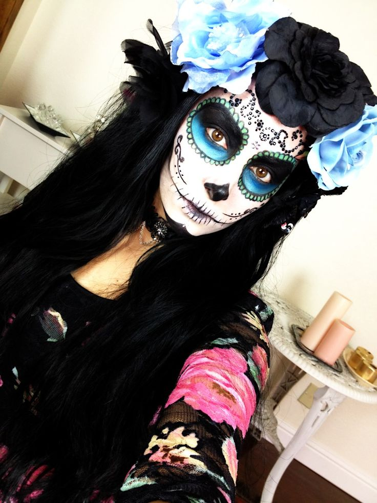715 best Day of the Dead images on Pinterest | Sugar skulls ...