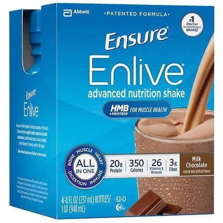 Ensure Enlive Advanced Nutrition Shake Chocolate - 8 oz.