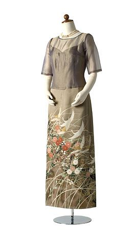 着物ドレス、リメイクドレス、レンタルドレスのローブドキモノ|留袖ドレス