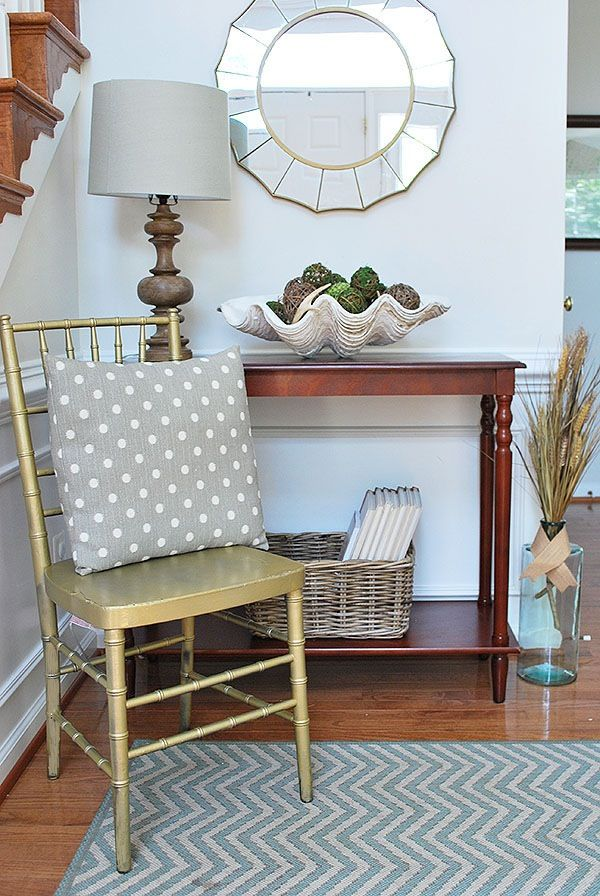 Foyer Rug Rules : A fabulous home tour at magnolia lane