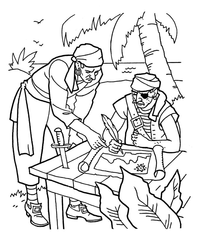 136 best Pirate Printables images on Pinterest Coloring pages