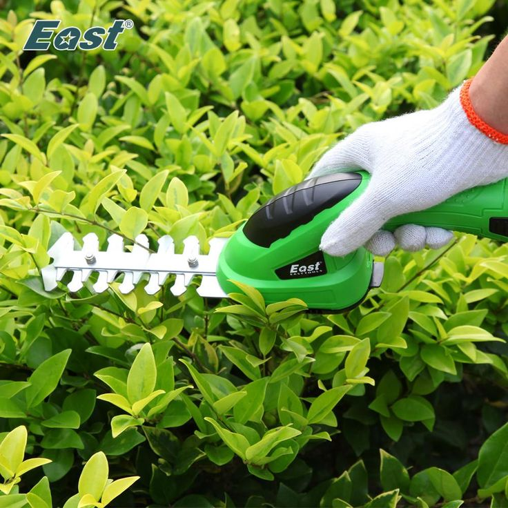 East Power Bonsai Tools 3.6V Combo Lawn Mower Li-Ion Rechargeable Hedge Trimmer Grass Cutter Cordless Garden Tools ET1205 2in1 - 10 minus
