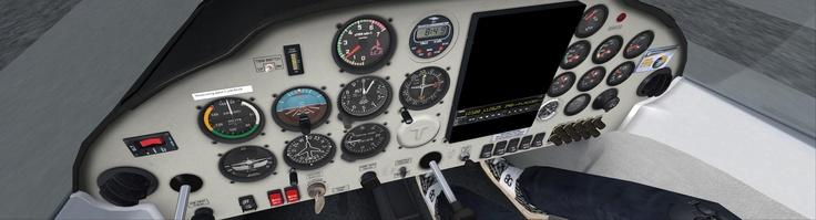Tecnam Cockpit